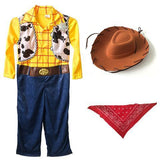 BFJFY Boys Captain Woody Halloween Cosplay Costume - bfjcosplayer
