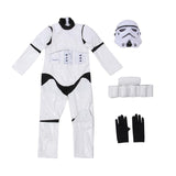 BFJFY Boy Star Wars The Force Awakens Storm Troopers Cosplay Halloween - bfjcosplayer