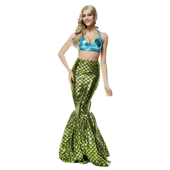 BFJFY Women Sexy Mermaid Costumes Halloween Cosplay Costume - bfjcosplayer