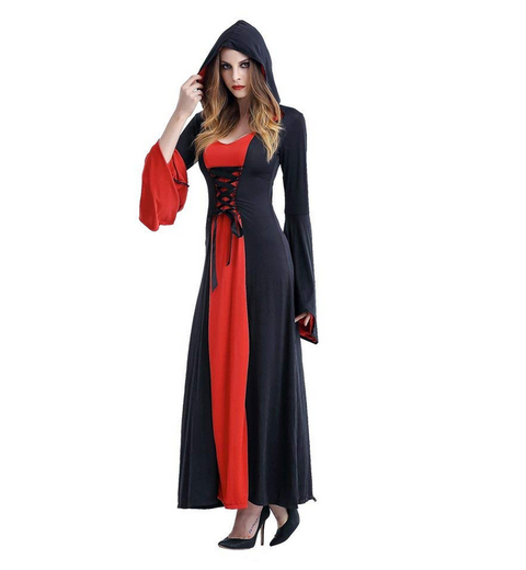 BFJFY Sorceress Witch Costume Queen Women' S Cosplay For Halloween Carnival - bfjcosplayer
