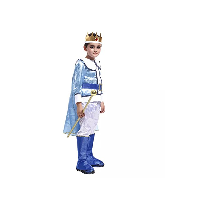 BFJFY Halloween Boy's Prince Crown Cosplay Costume Performance Outfit - bfjcosplayer