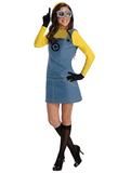 BFJFY Halloween Women's Despicable Me 2 Minion Costume - bfjcosplayer