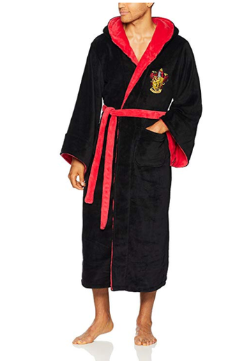 BFJFY Harry Potter Flannel Bathrobe Costume Suitable For Halloween - bfjcosplayer