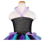 BFJFY Girls Halloween Dance Skirt Princess Dress Strap Skirt - bfjcosplayer