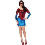 BFJFY Sexy Women Spiderman Fancy Dress Classic Female Superhero Halloween Costume - bfjcosplayer