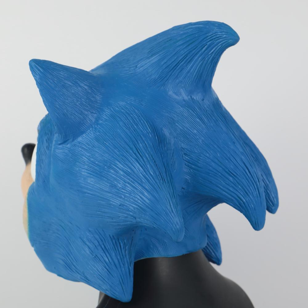 Sonic Mask The Hedgehog Cosplay Costume Mask Halloween Masquerade Props - bfjcosplayer