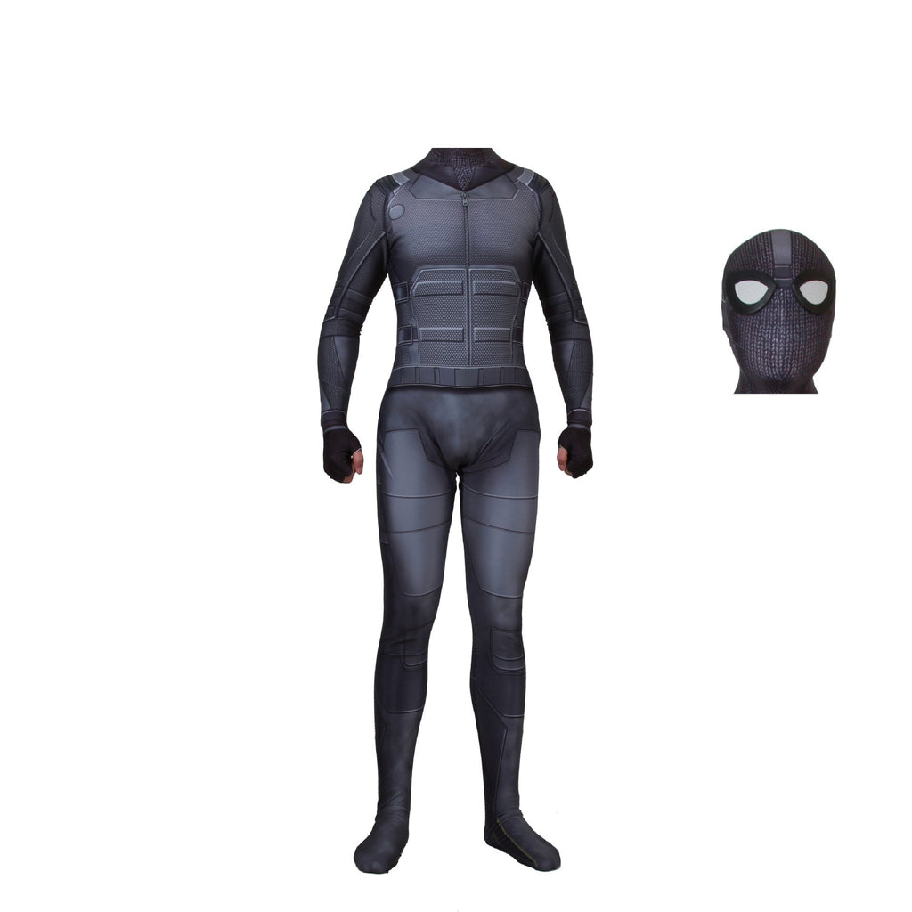 2019 movie new version Spider-Man hero expedition stealth battle cosplay costume jumpsuit - bfjcosplayer