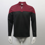 Star Trek Admiral Jean-Luc Picard Red Uniform Male Cosplay Costume