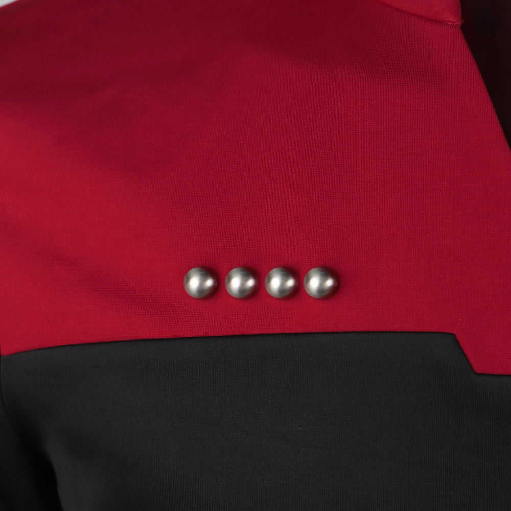 Star Trek Admiral Jean-Luc Picard Rank Pips The Next Generation Pin Brooches Accessories