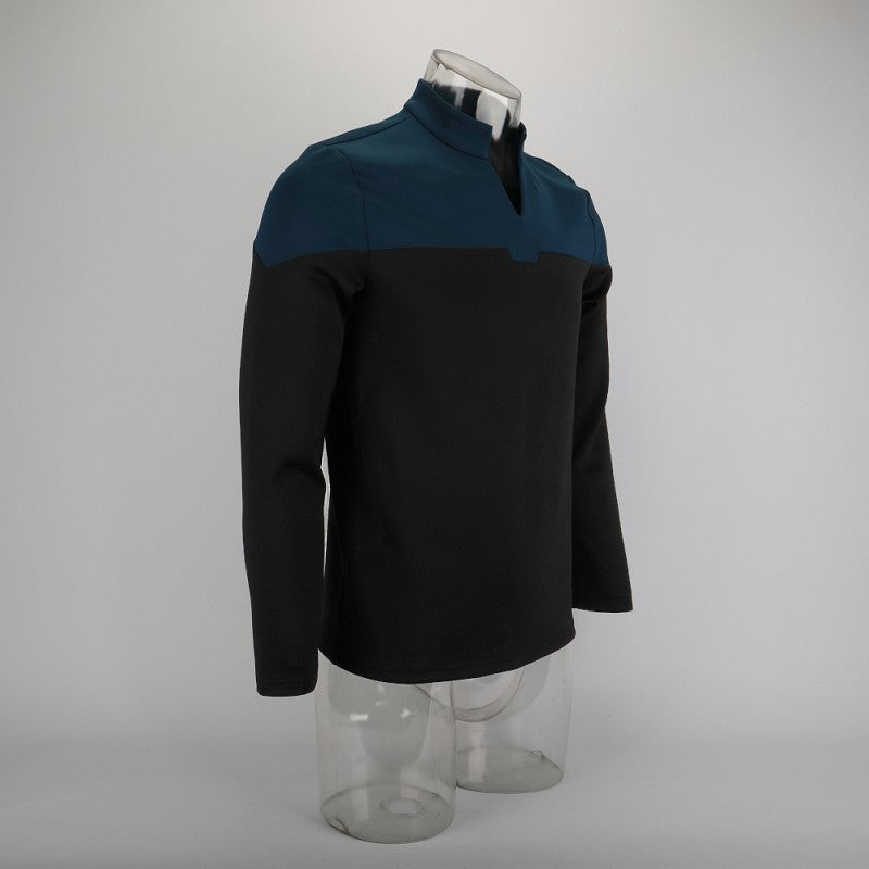 Star Trek Picard Blue Uniform New Engineering Shirts