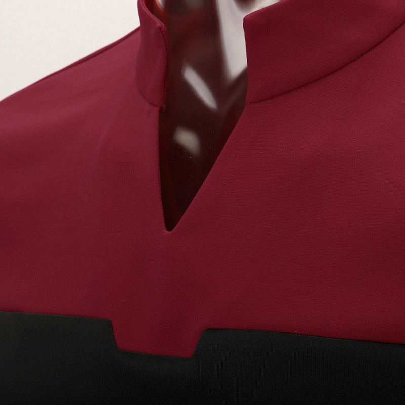 Star Trek Picard Red Uniform New Engineering Shirts