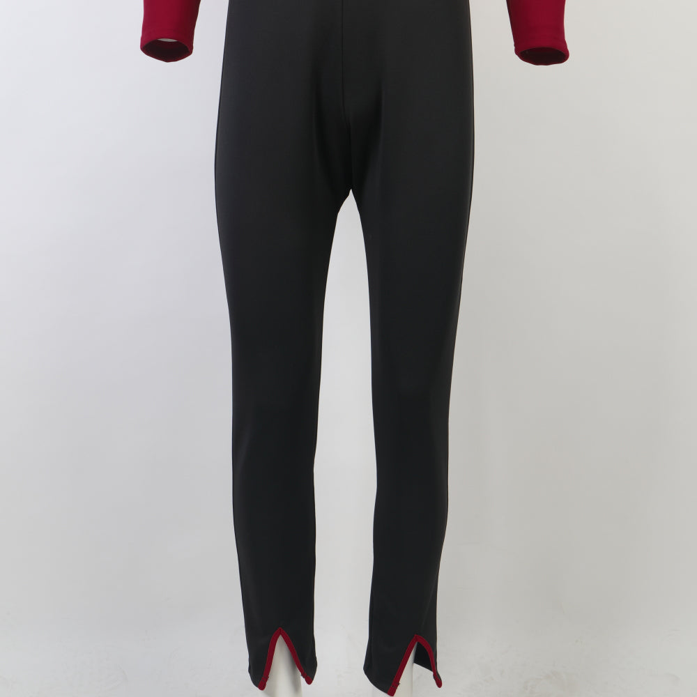 Star Trek The Next Generation Jean-Luc Picard Jumpsuit Cosplay Costume Flying Suit