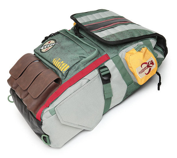Star Wars Boba Fett Armor Cosplay Student Backpack Halloween Props