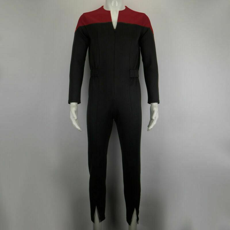 Star Trek Deep Space Nine Commander Sisko Duty Uniform Jumpsuit Cosplay Costumes - bfjcosplayer