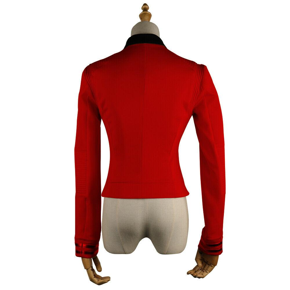 Star Trek Discovery Season 2 Starfleet Commander Nhan Red Uniform Pin Costumes - bfjcosplayer