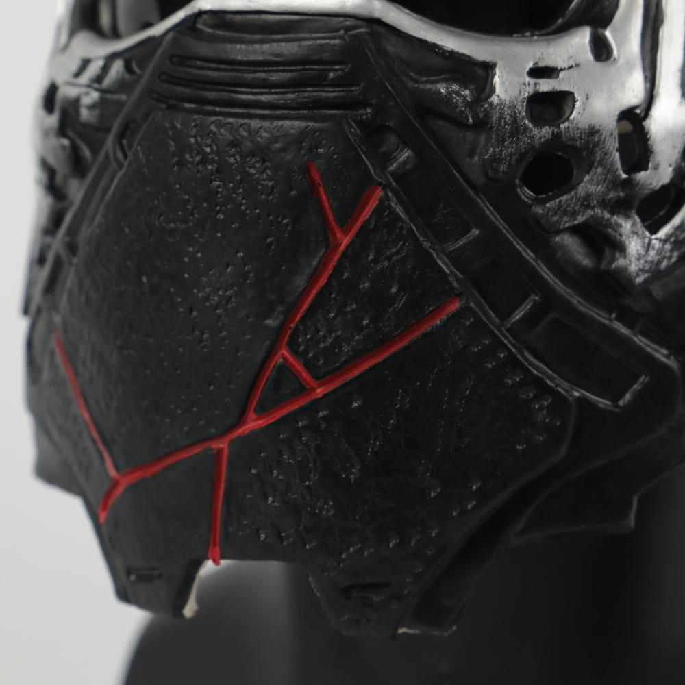 Star Wars 9 Kylo Ren Helmet Cosplay The Rise of Skywalker Mask Props latex  Masks Halloween Party Prop - bfjcosplayer