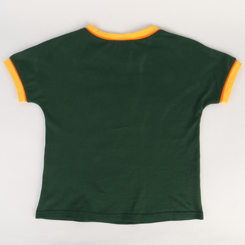 2019 Strange Things Dustin T-shirt Kids Costumes Retro Mesh Trucker Top Yellow Green 85 Know Where Tee Cosplay Costume - bfjcosplayer