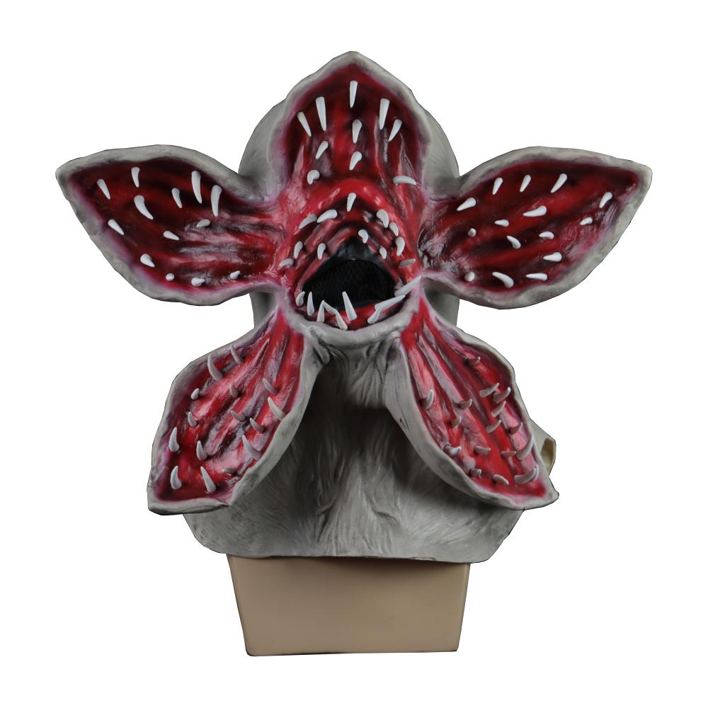 Stranger Things Demogorgon Mask Latex Cospaly Costume Headgear Halloween Prop - bfjcosplayer