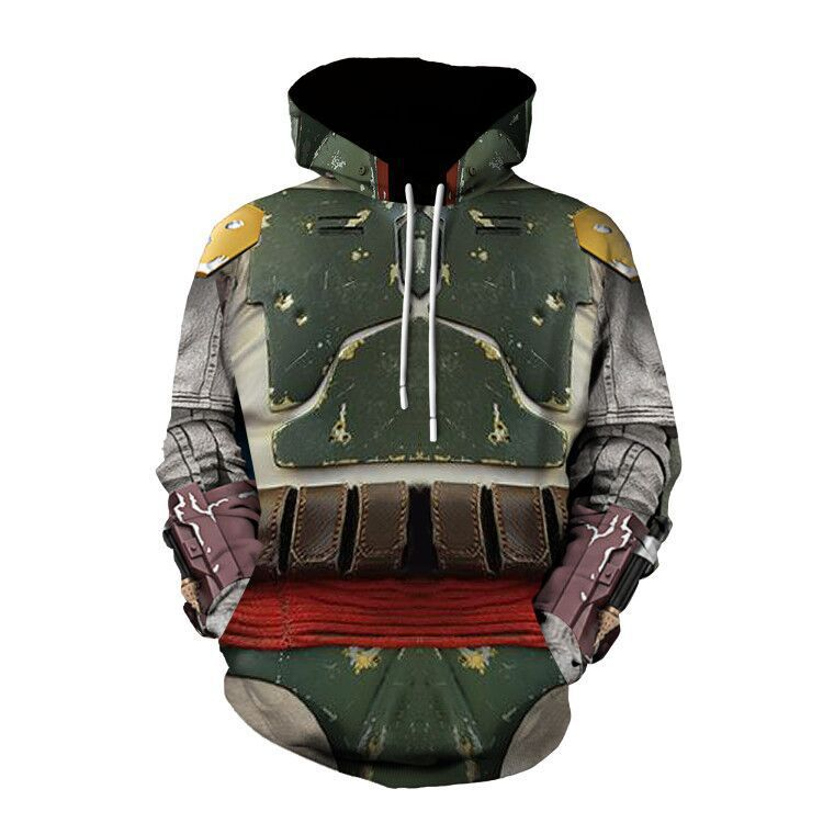 The Mandalorian Boba Fett Cosplay Hoodie Halloween Costume