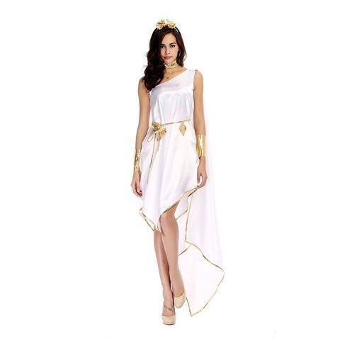 BFJFY Greek Goddess Halloween Queen Costume Cosplay For Women Girls - bfjcosplayer