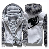 BFJFY Anime Fairy Tail Boy's Winter Thicken Hoodie With Zipper - bfjcosplayer