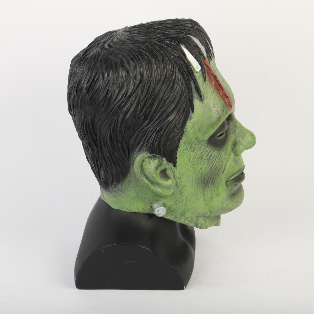 Frankenstein Mask Latex Scary Horror Halloween Party Masks Adult Costume Cosplay Props - bfjcosplayer