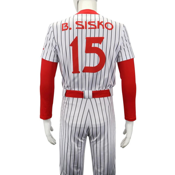 Star Trek Deep Space Nine Cosplay Costume Men 15 Sisko The Niners Baseball Outfit Pants Full Set New Halloween Costumes Party - bfjcosplayer