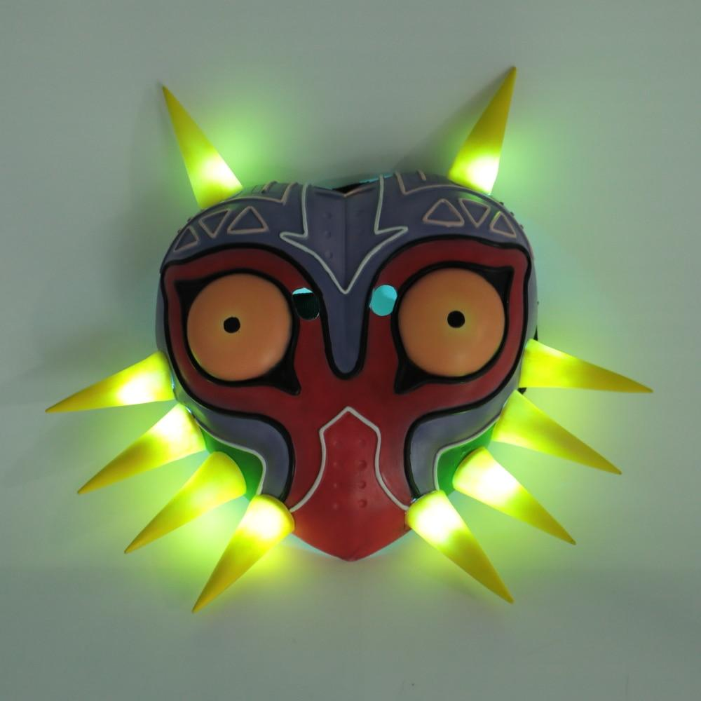 The Legend of Zelda Majora Led Mask Game Cosplay Masks Stylish Painted Party Mask Cosplay Props Accessories For Women Men - bfjcosplayer