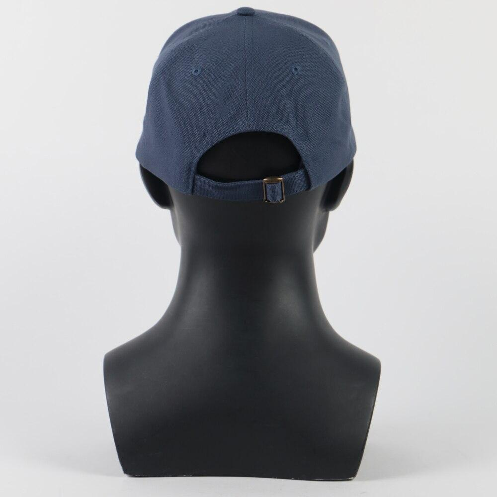 Death Standing Hat Sam Blue Birdges Embroidery Baseball Sun Caps Adjustdble Cosplay Prop - bfjcosplayer