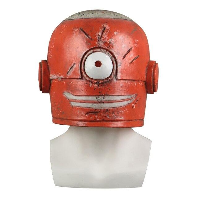 Cosplay Smiling Nabler Guy MARLON Mask Minions Funny Full Head Mask Props Latex Halloween Party Prop - bfjcosplayer