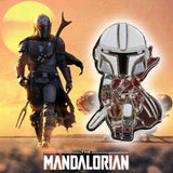 Cosplay Star Wars Mandalorian Baby Yoda Jedi Pin Badge Brooch Accessories Action Figure Props - bfjcosplayer