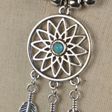 Never Rarely Sometimes Always Autum Dream Catcher Necklace Pendant Cosplay Accessories Metal Prop