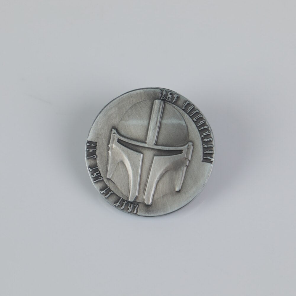 Star Wars The Mandalorian Coin Bounty Hunter Boba Fett Coin Collection Props New