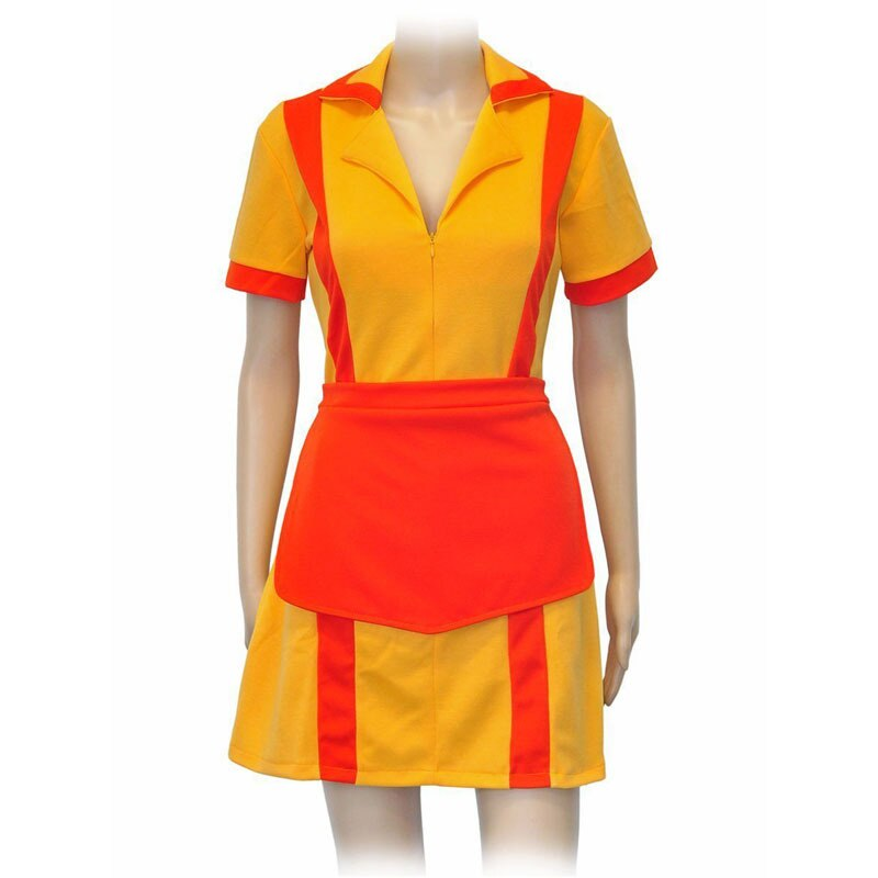Bankruptcy Sister Cosplay Uniform Skirt Bankruptcy Girl Waiter Maid Outfit Women Cosplay Max Caroline Costume Halloween Party Pr