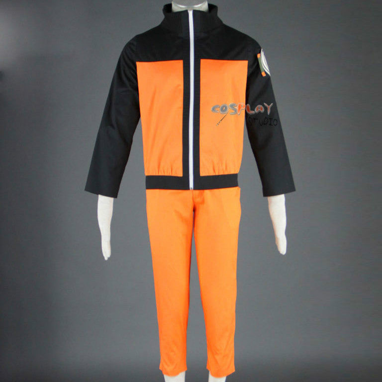Naruto Cosply Costume Naruto Clothes Party Halloween Costumes Uzumaki Naruto NARUTO Men Coat Pants Prop