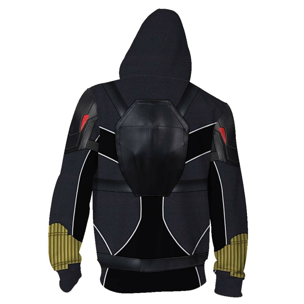 2020 Black Widow Movie Natasha Romanoff Hoodie Jacket Coat Superhero Sweatshirts