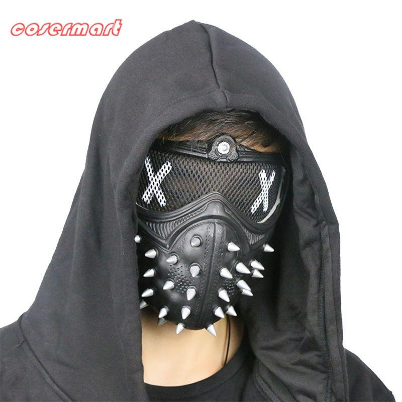 Game Cosplay Mask Watch Dogs 2 Mask Wrench Holloway Mask Casual Tangerine Mask Halloween Party Prop - bfjcosplayer