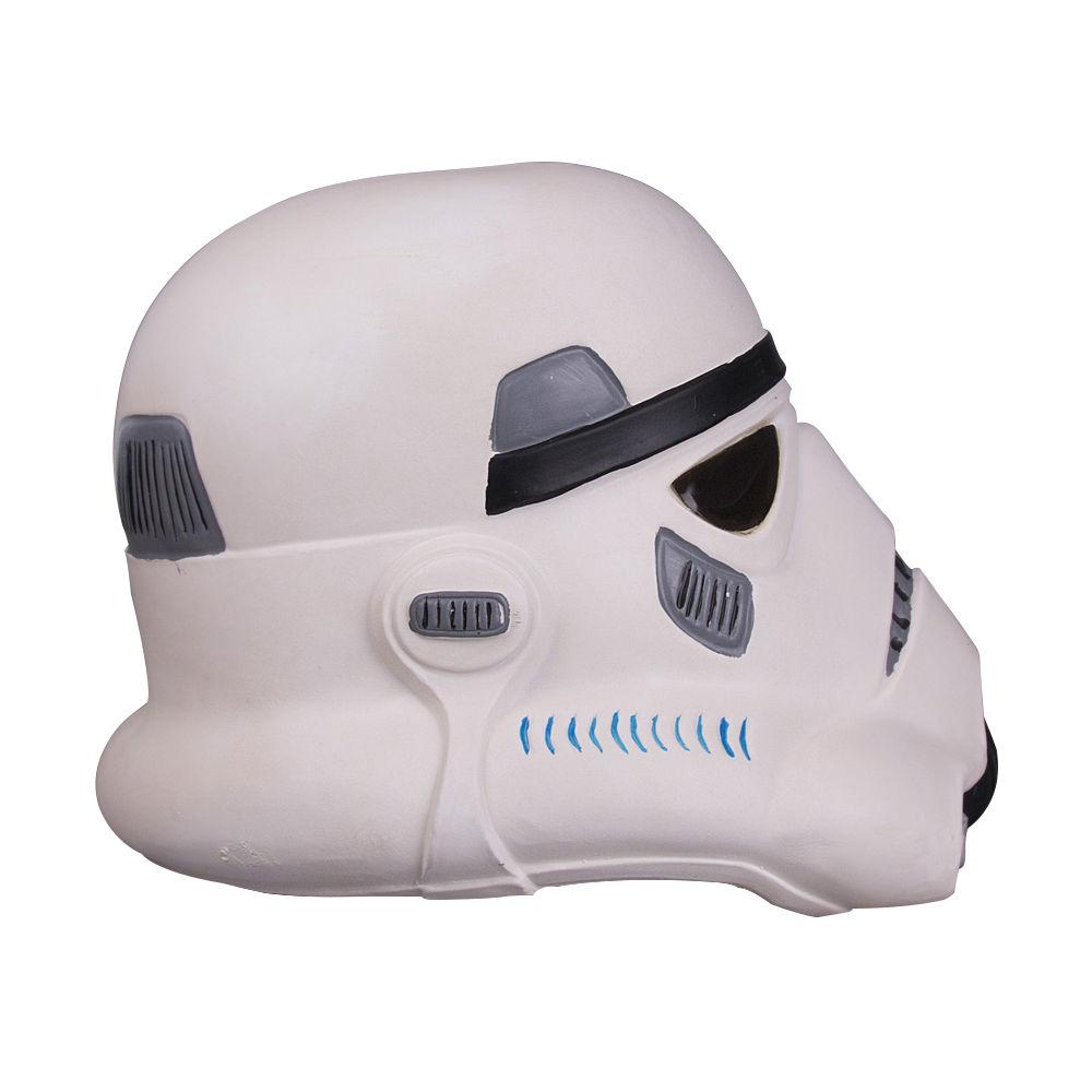 Free Shipping Star Wars Stormtrooper Mask Latex Full Head Helmet for Kids Adult Party Mask Halloween - bfjcosplayer