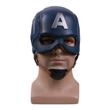 Cos Movie Superhero Civil War Captain America Helmet Cosplay Steven Rogers Mask PVC Man Adult Halloween Party Prop - bfjcosplayer