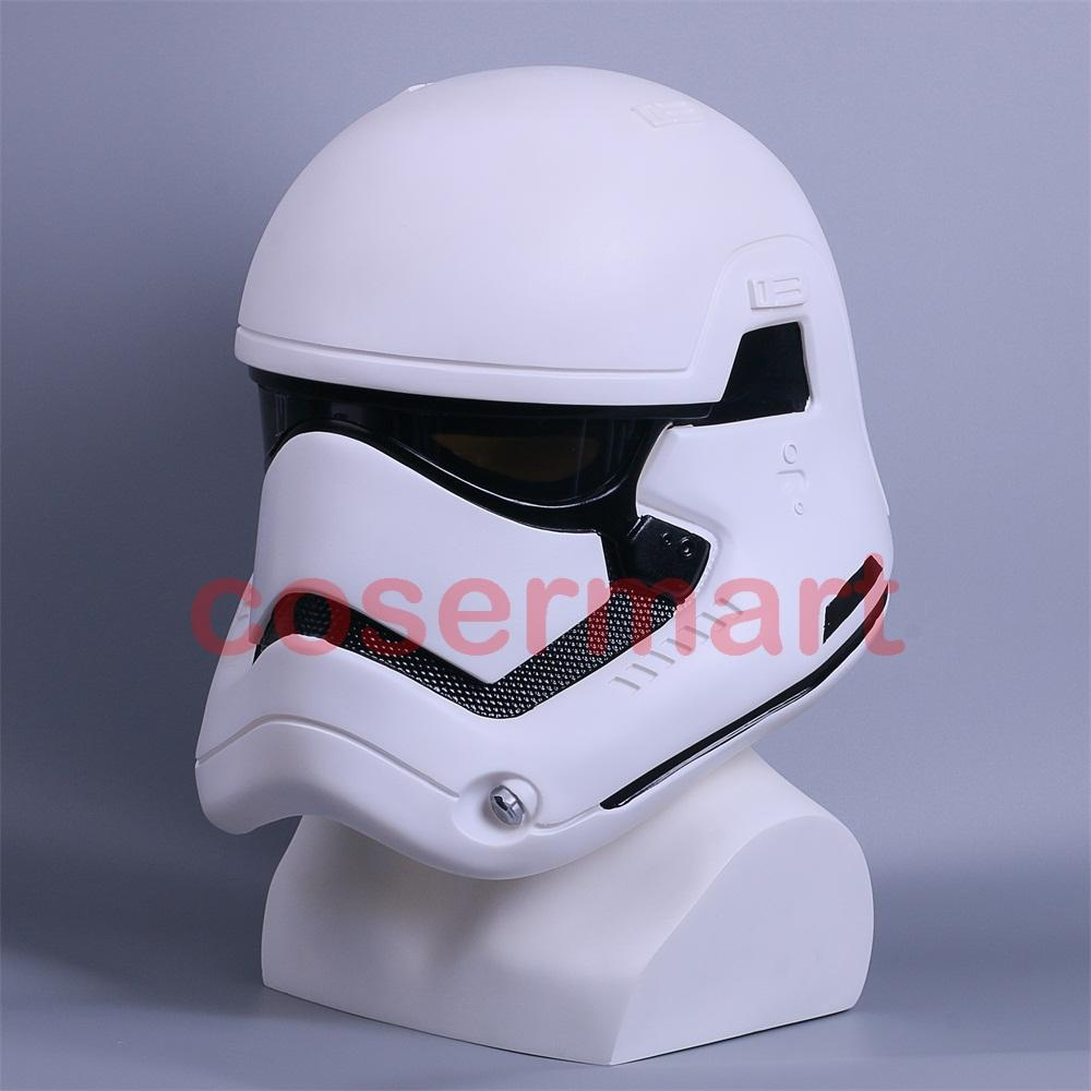 Star Wars: The Force Awakens Stormtrooper Deluxe Helmet Adult Party Halloween Mask - bfjcosplayer