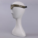 2017 Movie Wonder Woman Superhero Diana Prince Leather Headgear Metal Badge Ring Accessories Cosplay Bronze Crown Band Headgear - bfjcosplayer