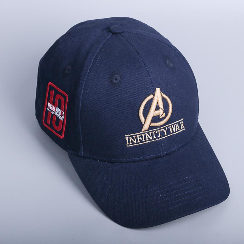 2018 Movie Avengers: Infinity War Accessories Hat Caps 10th anniversary cap Hat Souvenir Embroidery Hat Baseball 100% Cotton - bfjcosplayer