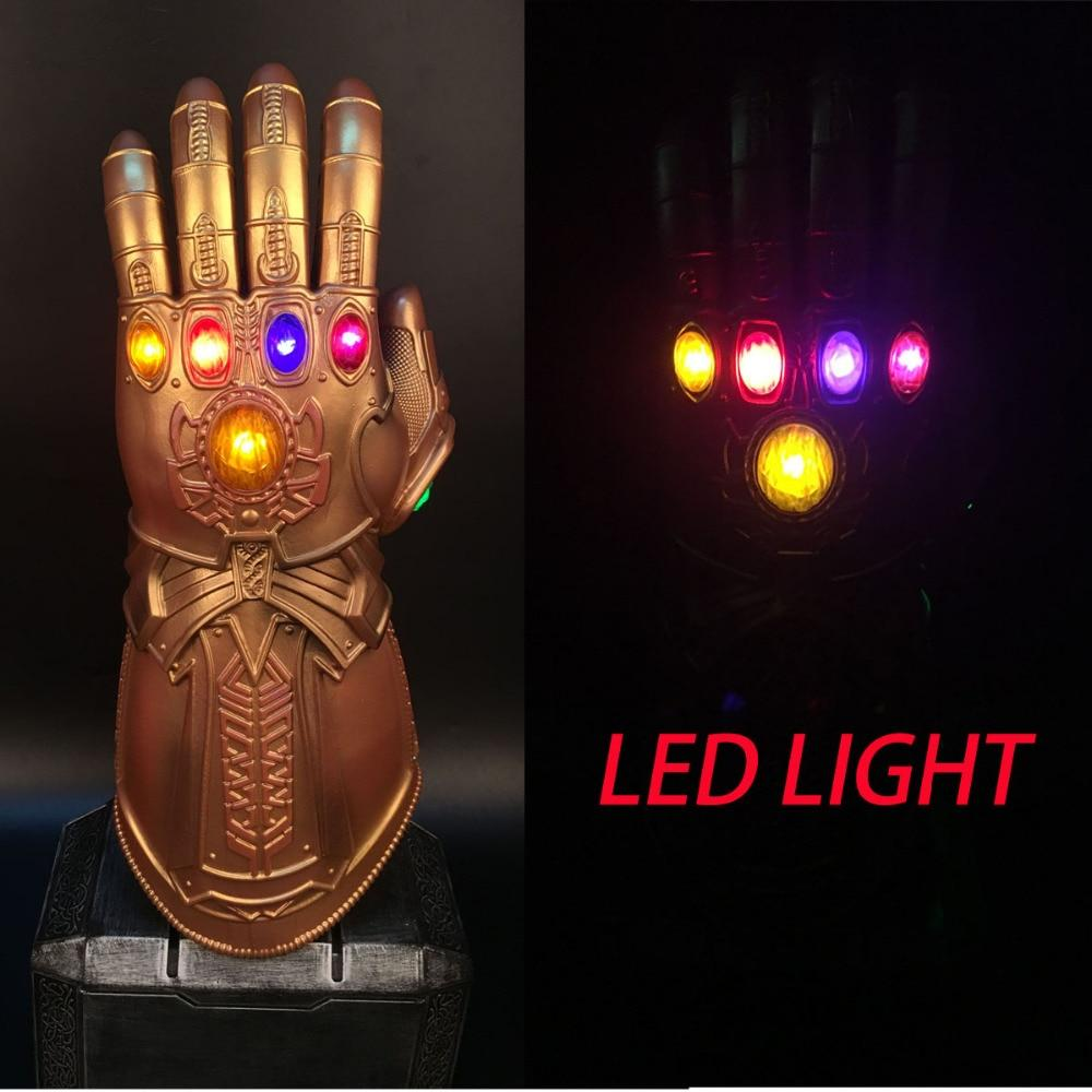 Avengers Infinity War LED Infinity Gauntlet Thanos LED Gloves Cosplay Props New - bfjcosplayer