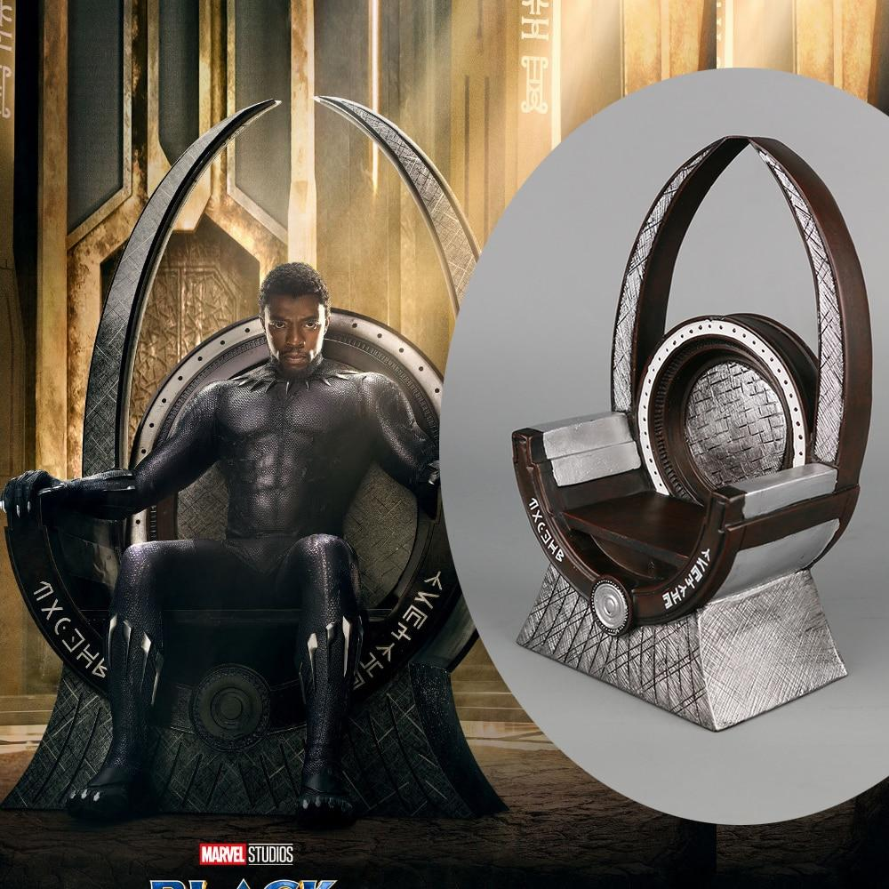 2018 Marvel Movie Avengers Infinity War Cosplay Accessories Black Panther Throne Action Figure Toys Cosplay Black Panther - bfjcosplayer