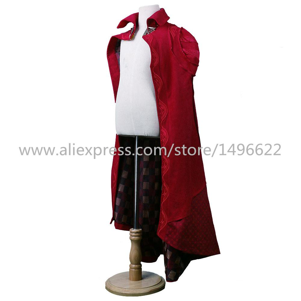 Doctor Strange Costume Kids and Adult Cosplay Steve Red Cloak Costume Robe Halloween Costume Party - bfjcosplayer