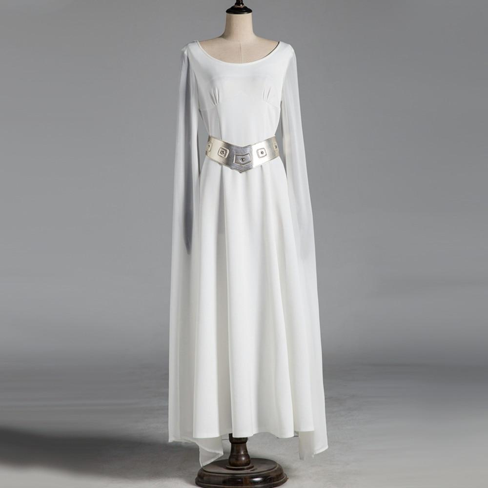 Halloween Star Wars: A New Hope Cosplay Princess Leia Original Dress Costumes Party Costume - bfjcosplayer