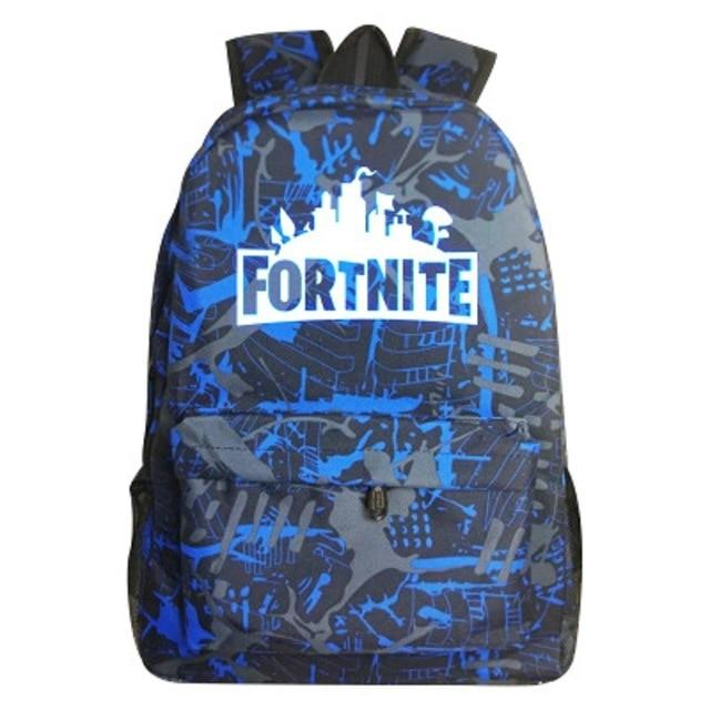 Game Fortnite Backpack for Students School Bag Travel Bag Luminous Cosplay Accessories Adult Kids Unisex Halloween Party Props - bfjcosplayer