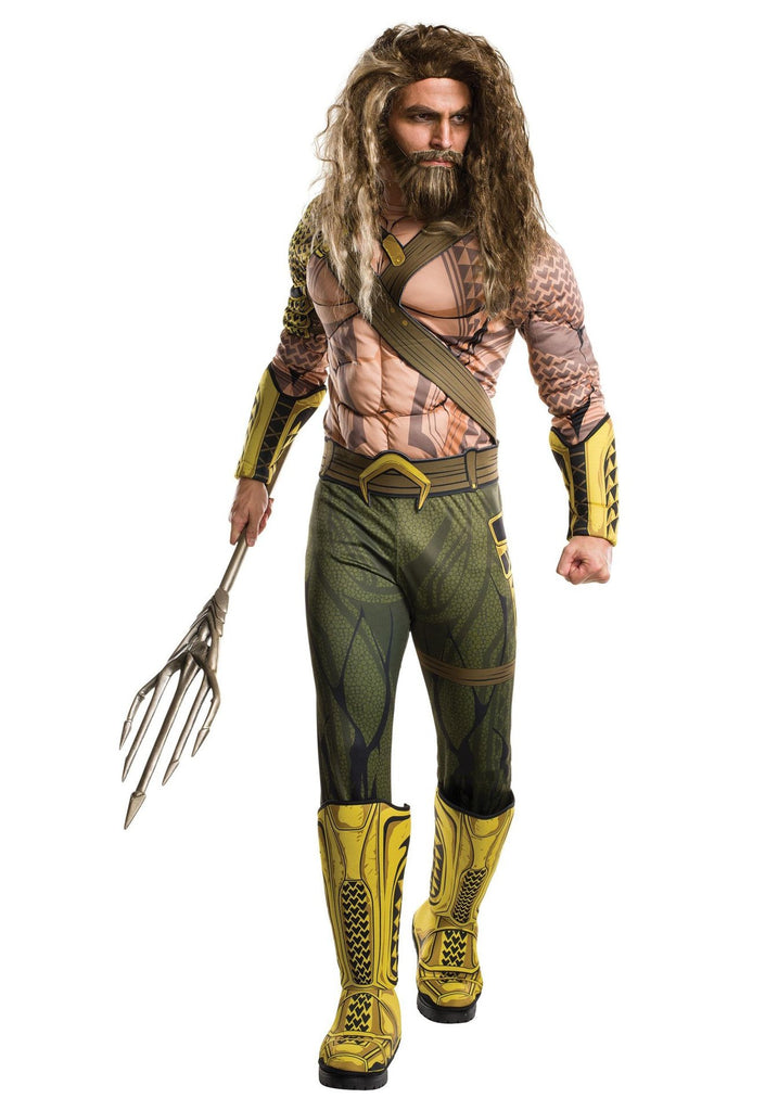 2018 Aquaman Cosplay Arthur Curry Costume Children Marvel Superhero Jumpsuit Dressed Costume Christmas Gift Halloween Party Prop - bfjcosplayer