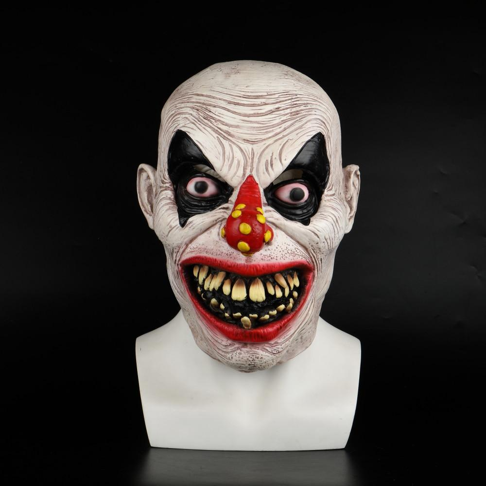 Latex Mask Carnival Costume Accessory Joker Novelty Halloween Party Head Mask  Fancy Dress Party Cosplay Mask - bfjcosplayer