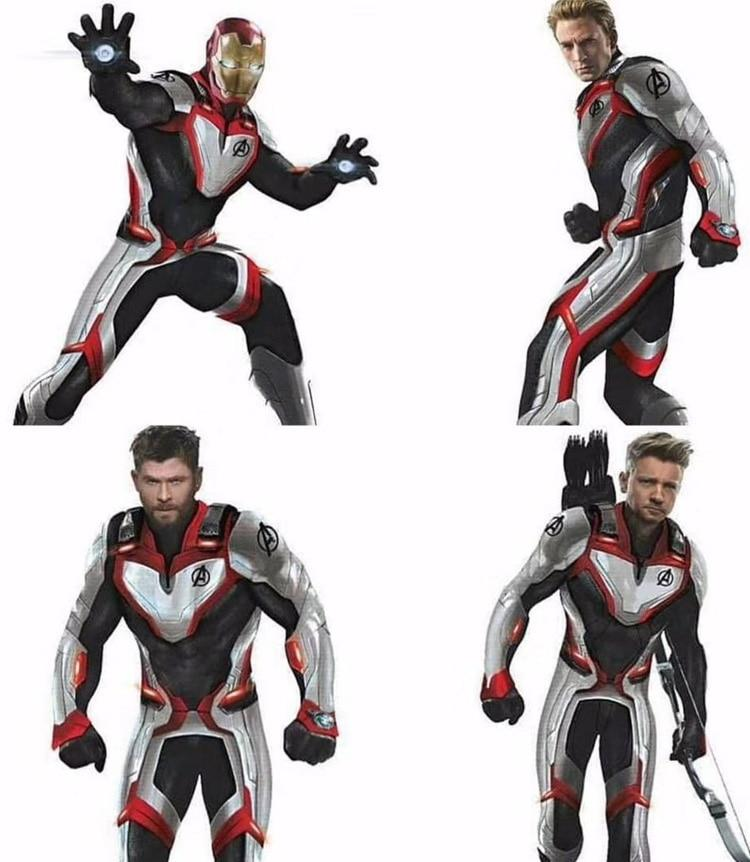 2019 New Avengers Endgame Quantum Realm T-short Tee Man Advanced Tech Top Shirt Cosplay Costumes - bfjcosplayer